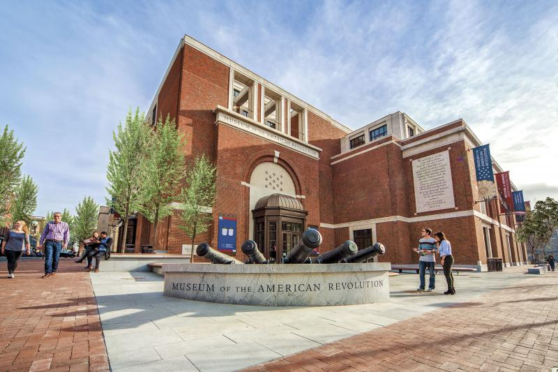 The New Museum of the American Revolution