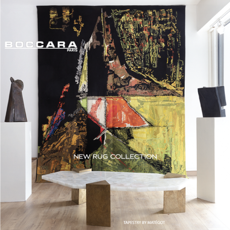 Boccara Gallery - New Rug Collection - Mategot Tapestry