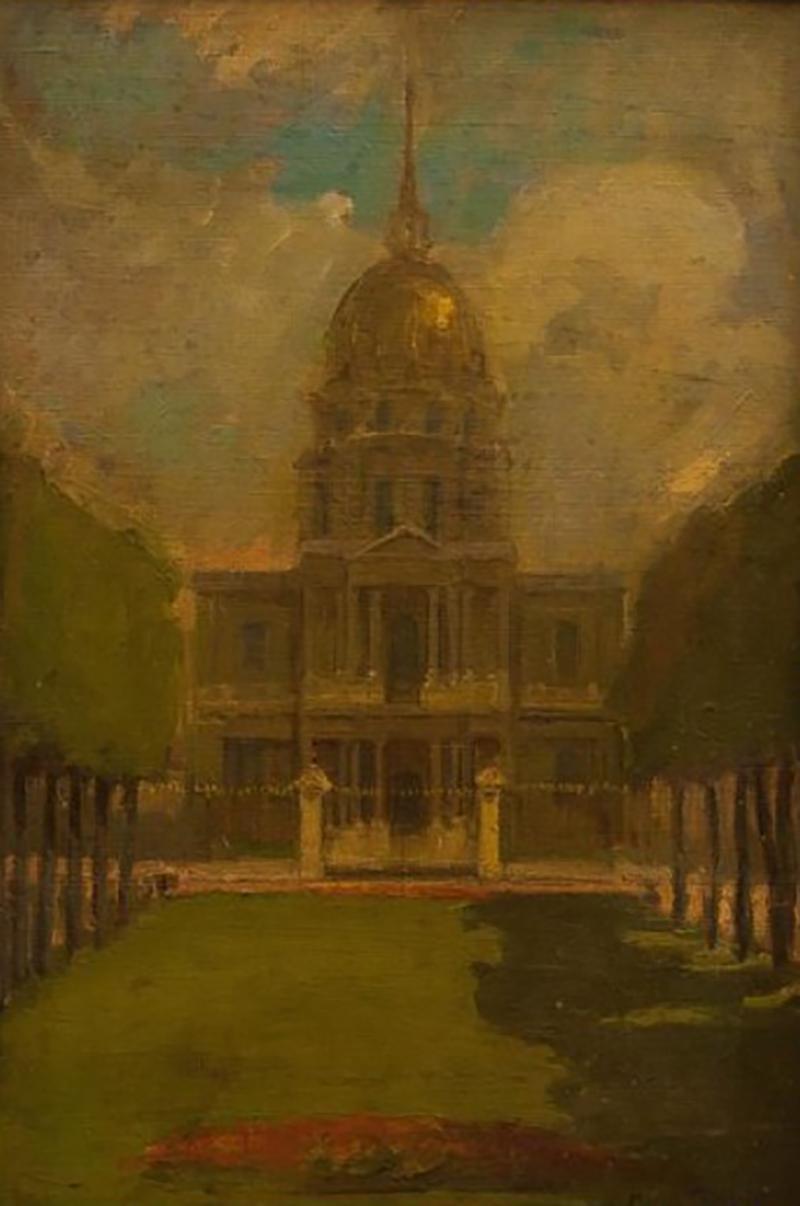 1892 Maren M Froelich Painting
