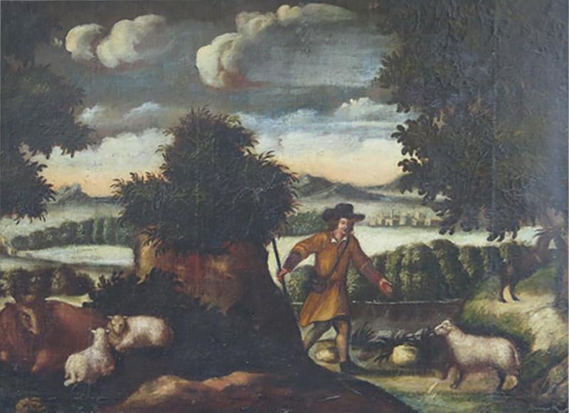 18th Century European Pastoral Landscape