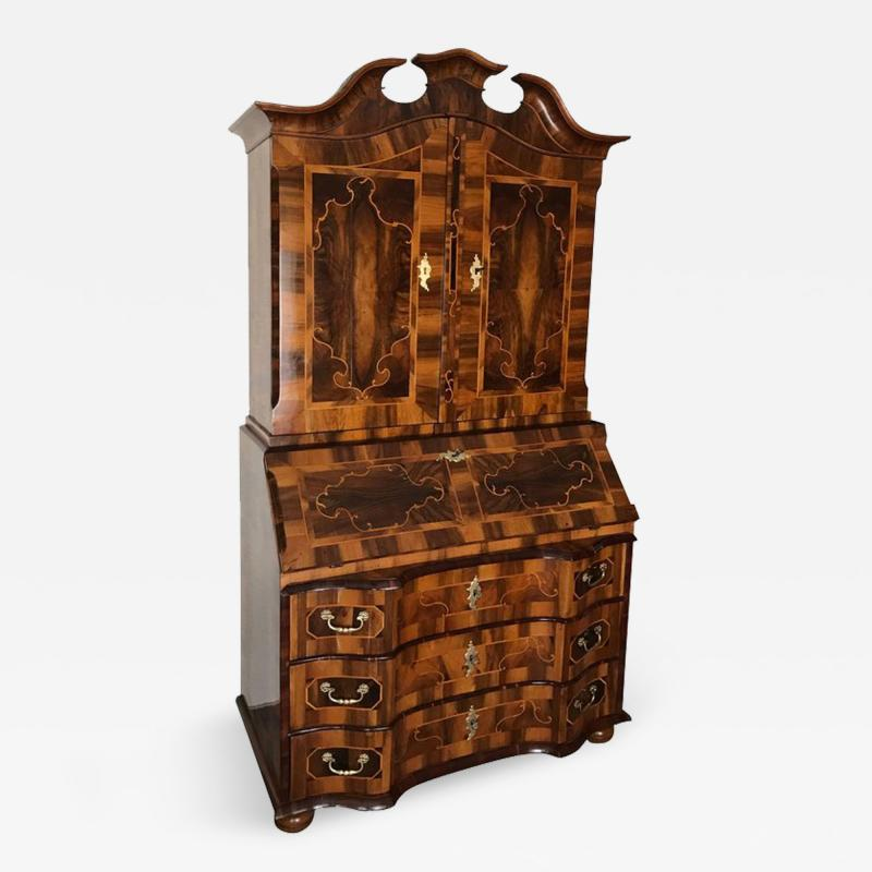 18th century Baroque Cabinet with Secretaire