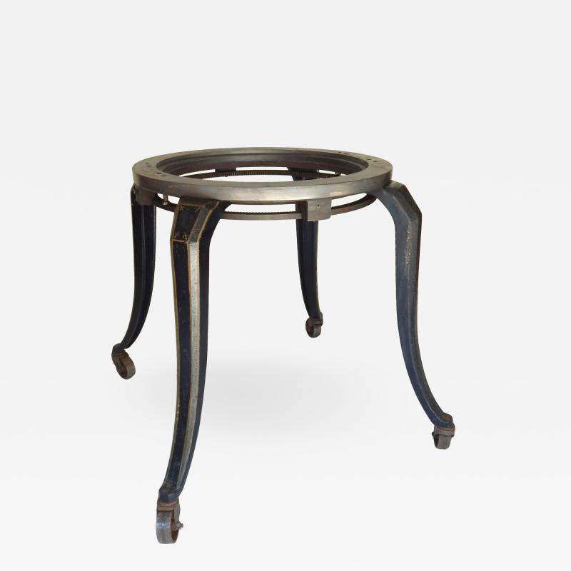 1910 Cast Iron Table Base