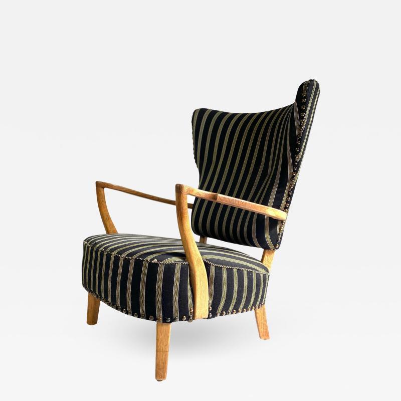 1940s Vintage Danish Lounge Chair