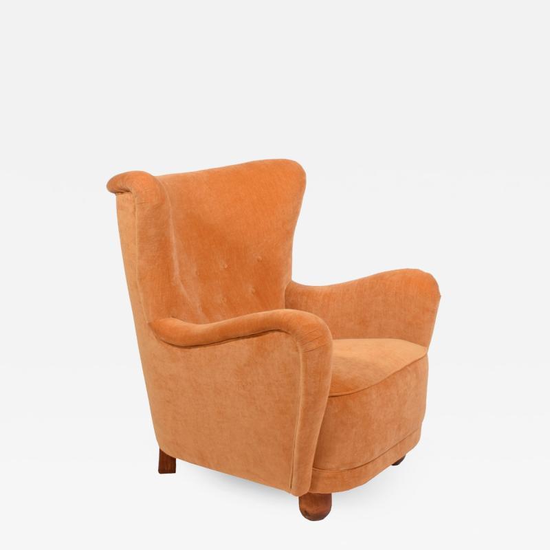 1940s easy chair from Scandinavia Denmark