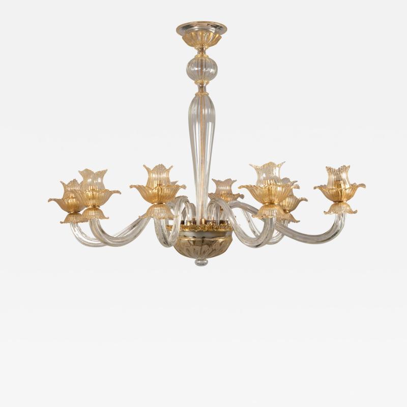 1950 Murano glass chandelier