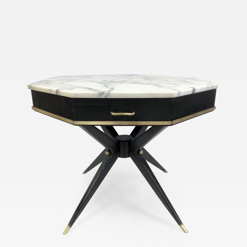 1950s Italian Marble Top Centre Table