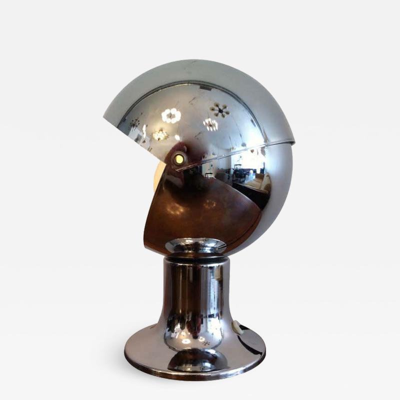 1960s Chrome Eclipse Lamp