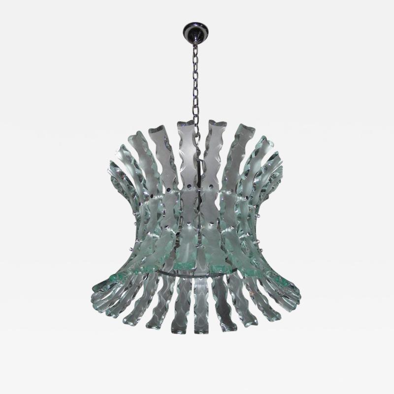 1960s chandelier by Quattrozero