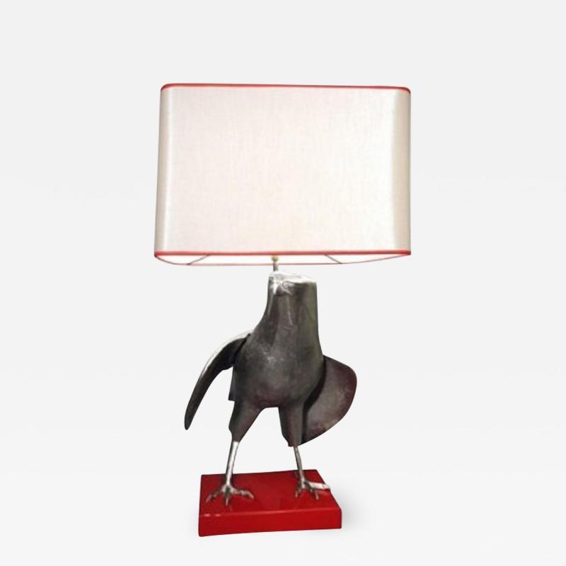 1970s Hawk table lamp