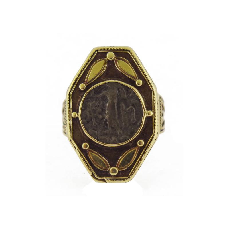 19th Century Coin Ring