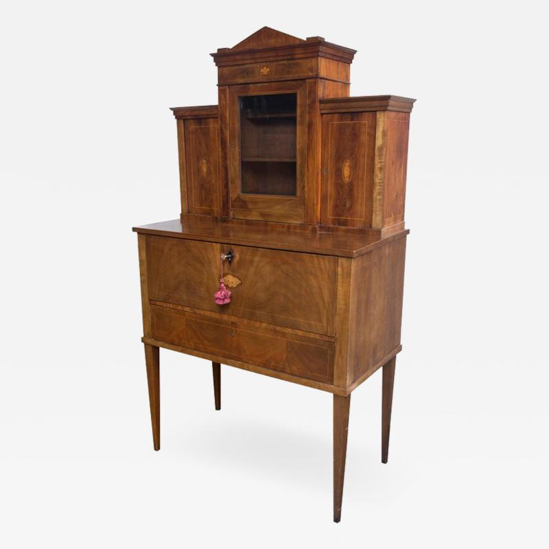 19th Century Drop Front Secretary Desk