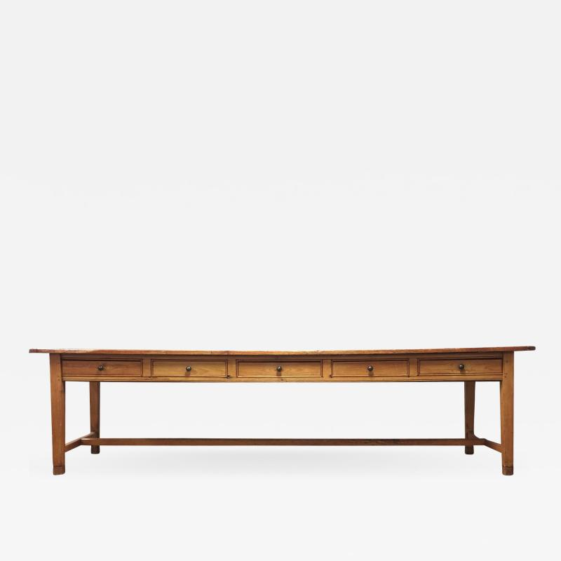 19th Century Large Size Pine Table