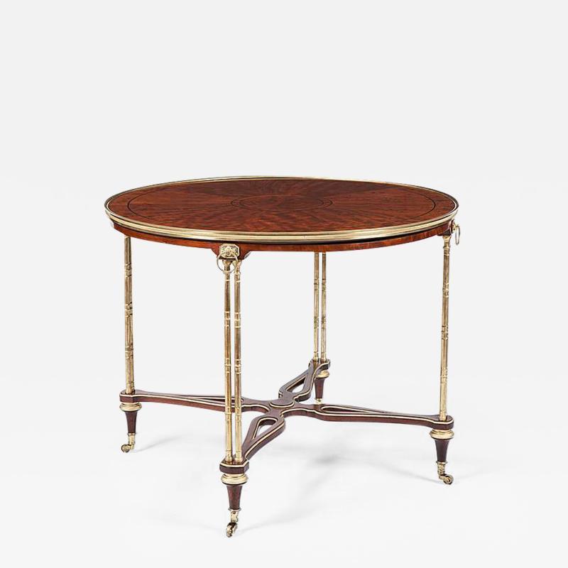 19th Century Mahogany and Ormolu Centre Table
