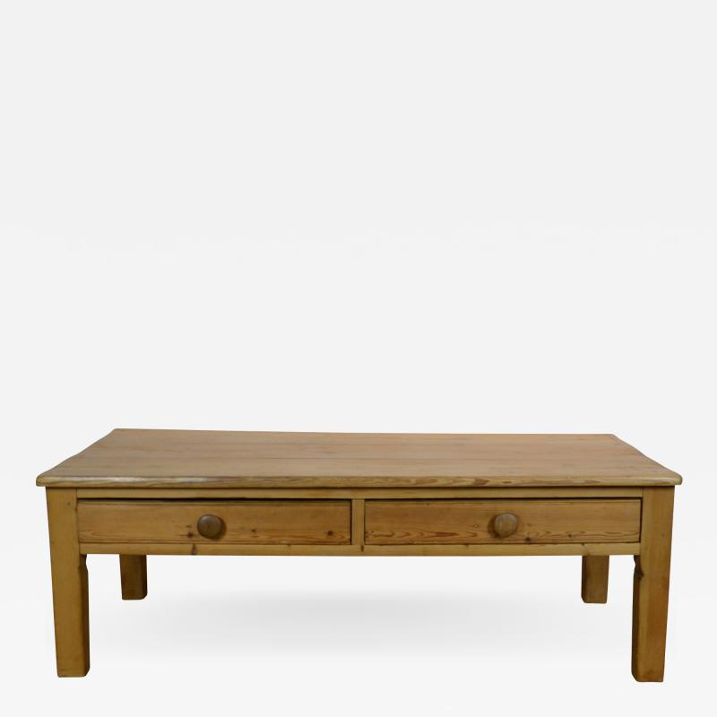 19th Century Pine Coffee Table