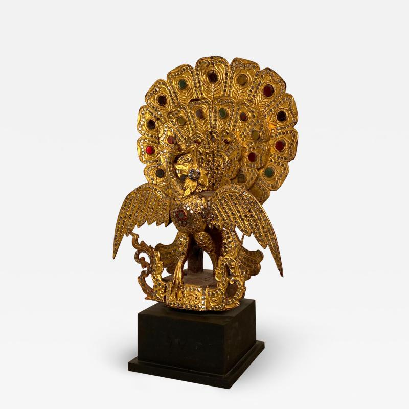 19th Century South East Asian Peacock