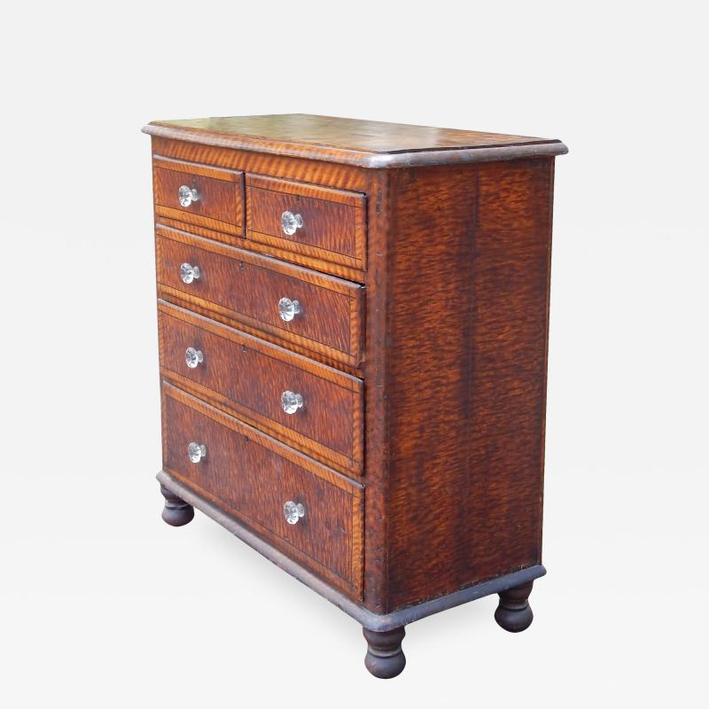 19th Century Sponge Painted Chest