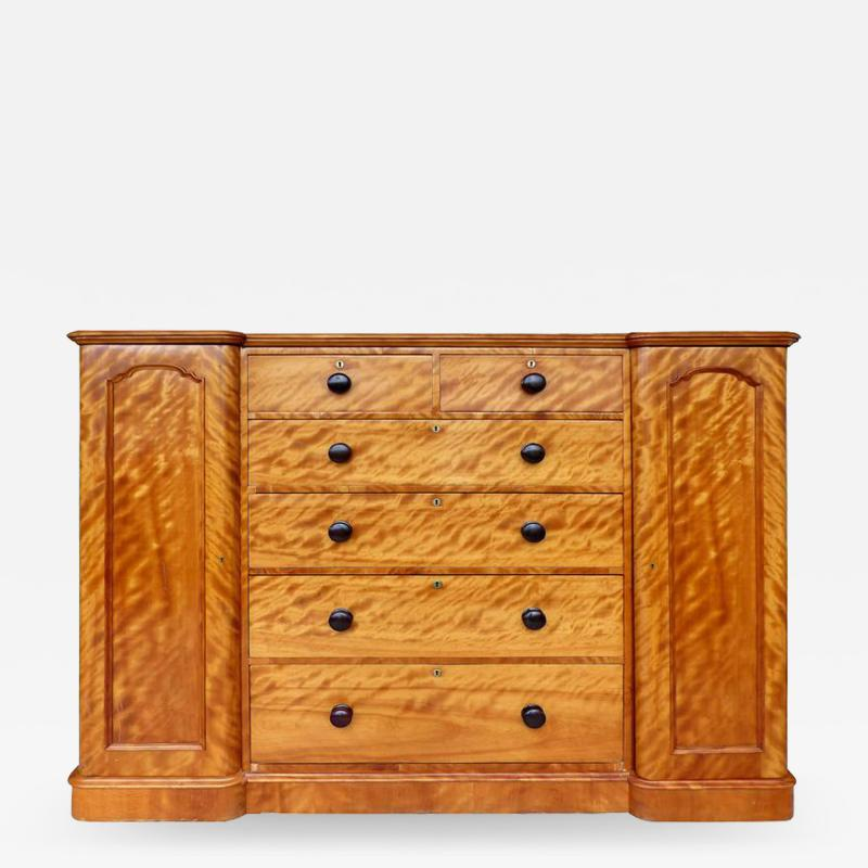 19th Century Tall Maple Biedermeier Dresser