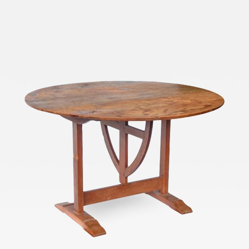 19th c French Wine Tasting Table