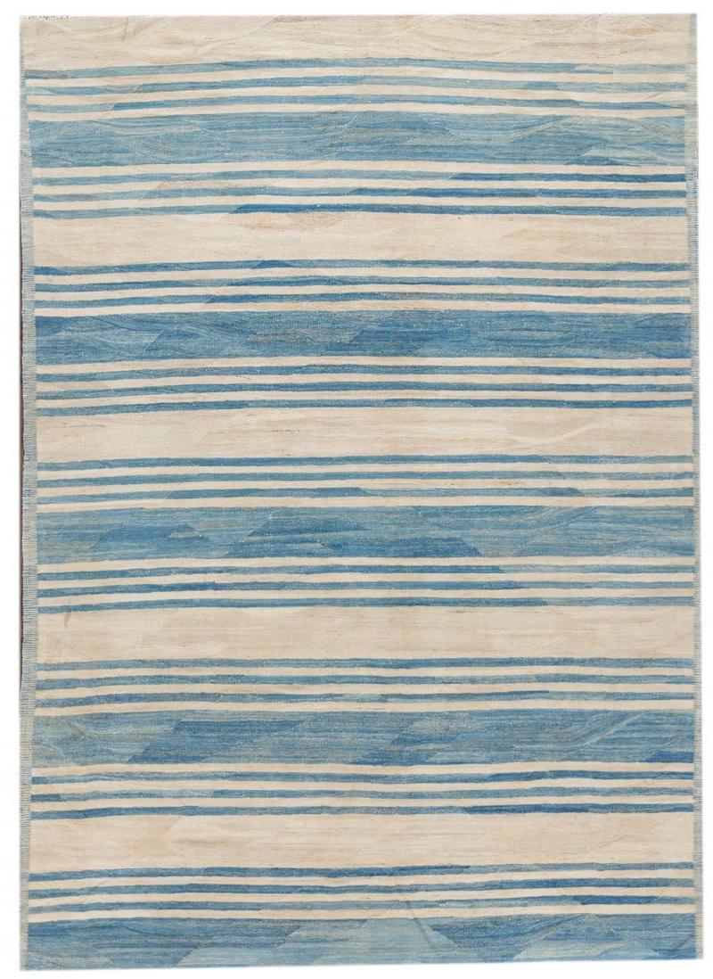 21st Century Modern Kilim Wool Rug 9 X 12