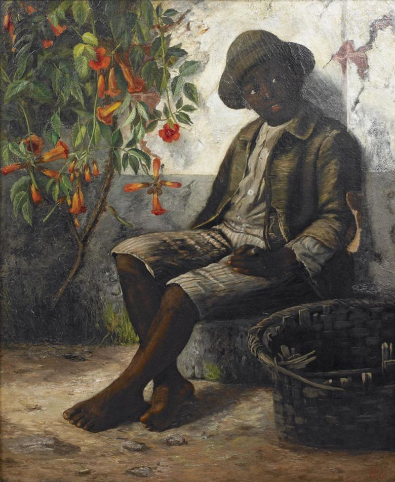 William Verplanck Birney Portrait of a Young Black Boy