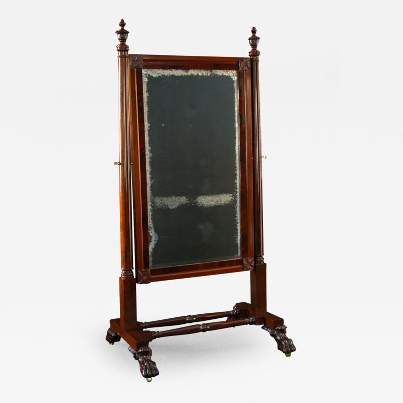 A Classical Cheval Mirror