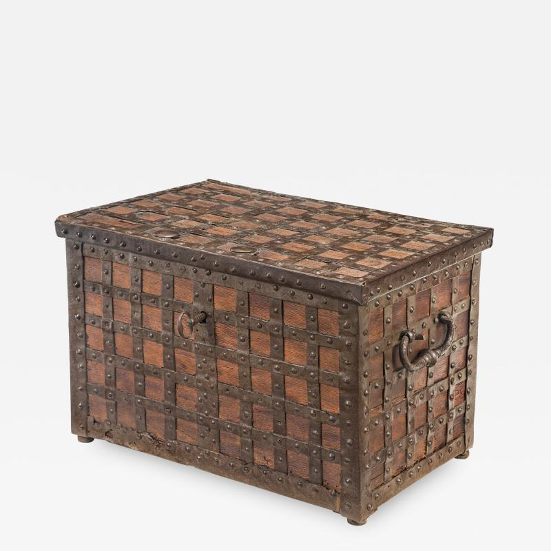 A Continental Baroque Trunk Strong Box
