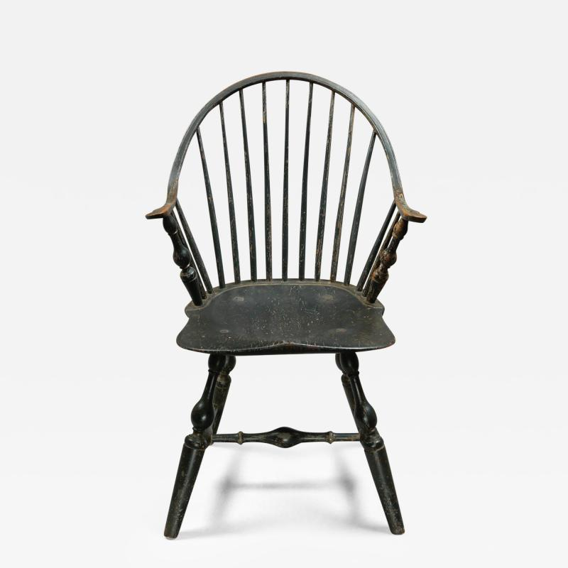 A Continuous Arm Windsor Chair