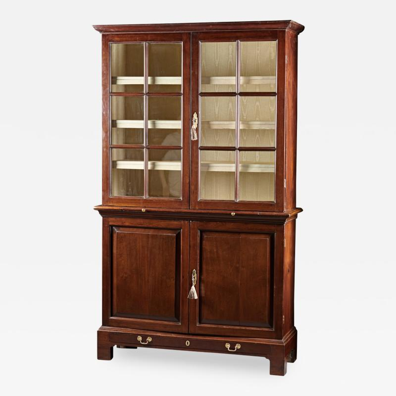 A Fine Georgian Mahogany Collectors Cabinet
