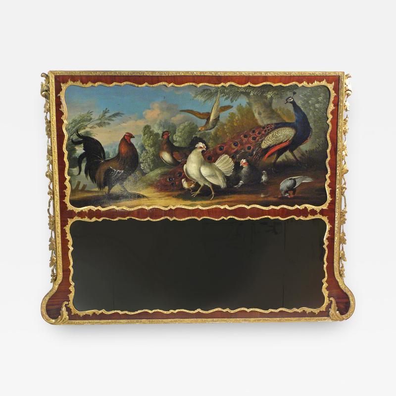 A George II Overmantel Mirror