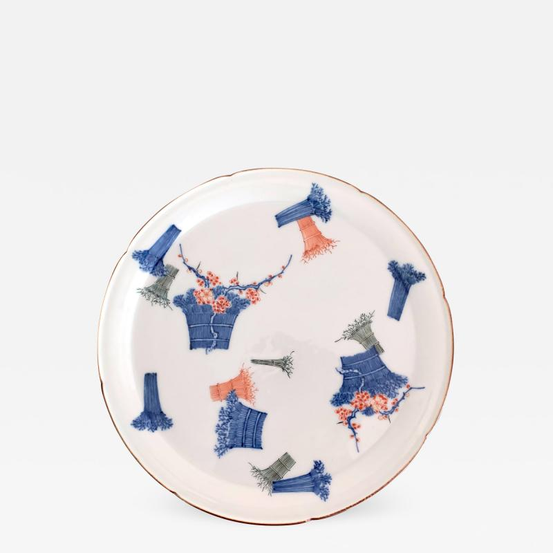 A Japanese Antique Kakiemon Plate from Arita
