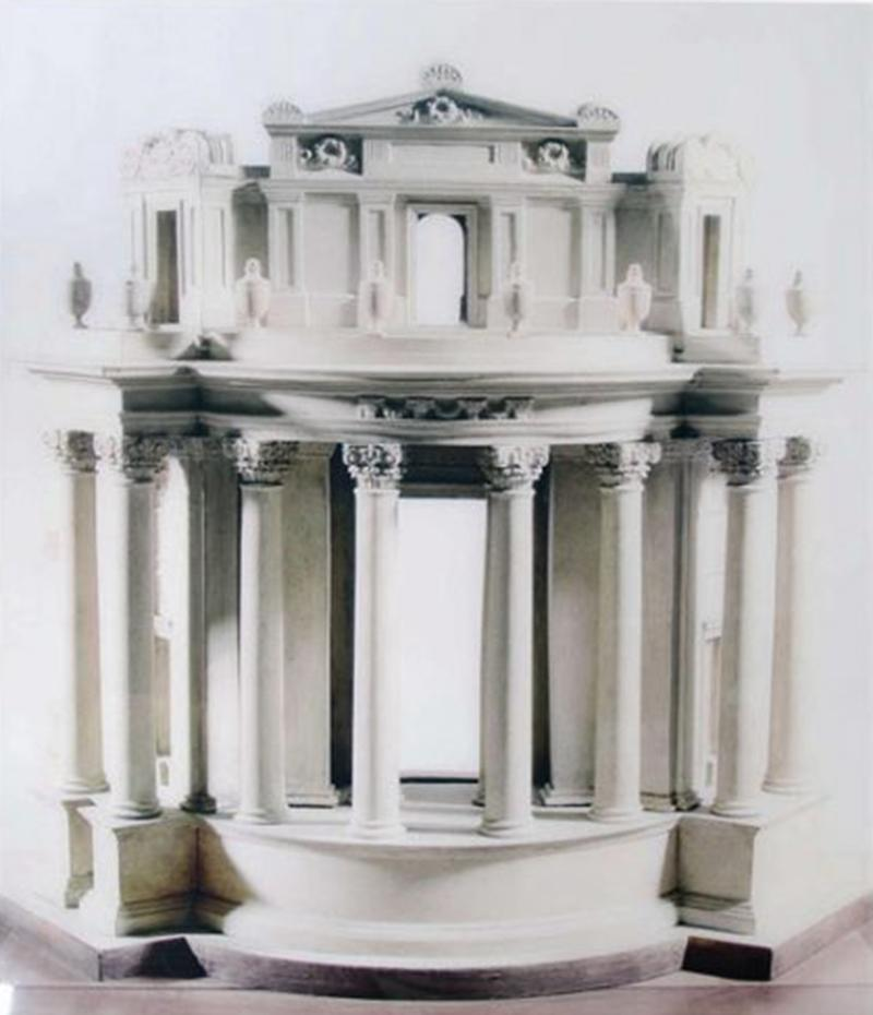 A Large Scale Photograph of Sir John Soane s Bank of England Model 2014