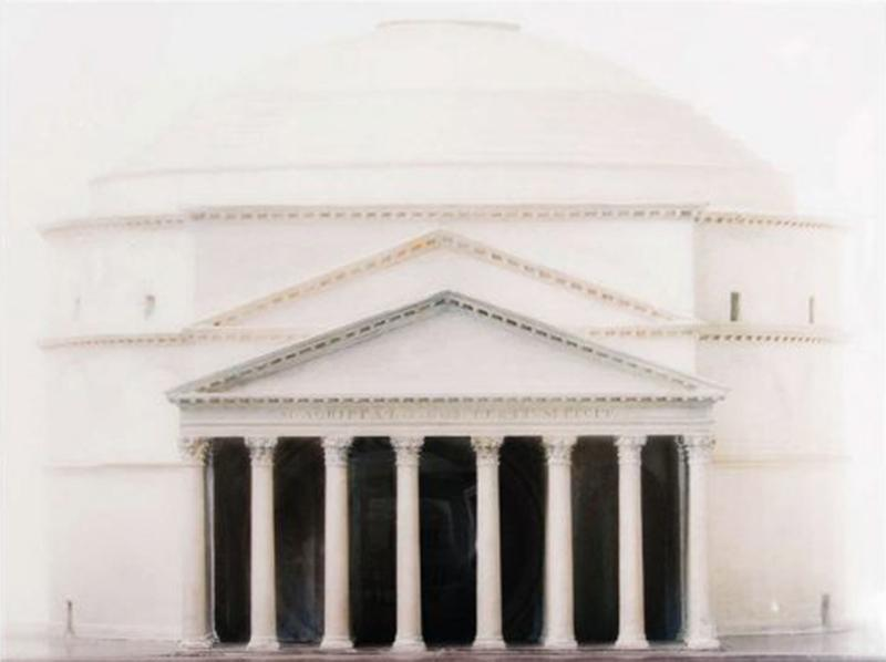 A Large Scale Photograph of Sir John Soane s Model of the Pantheon 2014