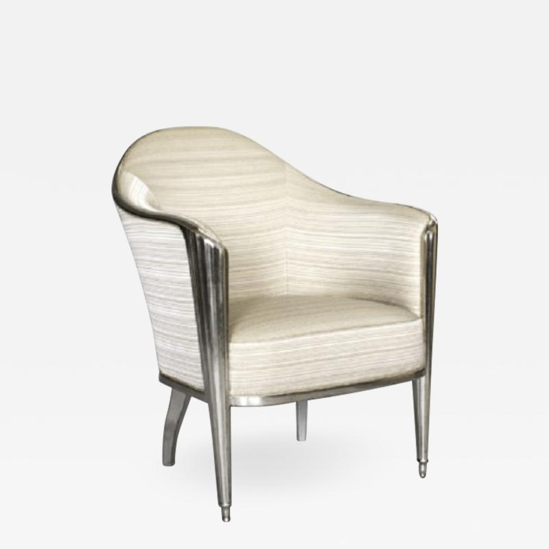 A Leleu inspired armchair by ILIAD Design