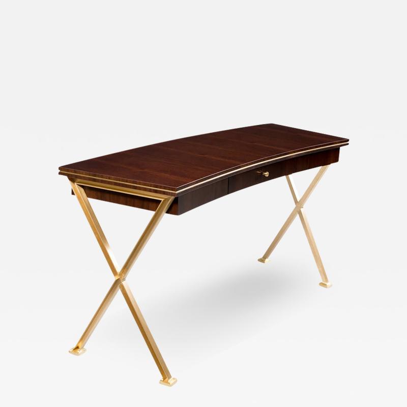 A Modernist Single Drawer Desk by Iliad Design