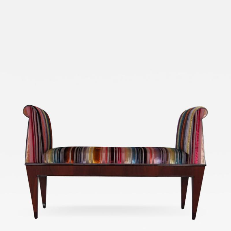 A Neo Egyptian inspired bench by ILIAD Design