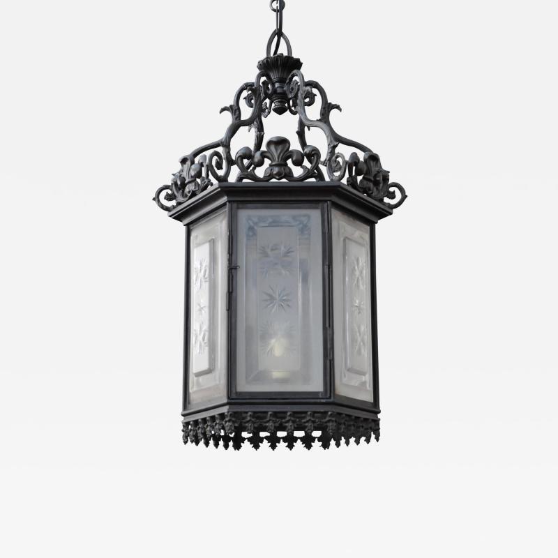 A Regency Hall Lantern