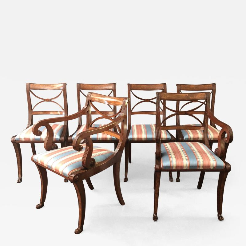 A Set Of Classical Dining Chairs