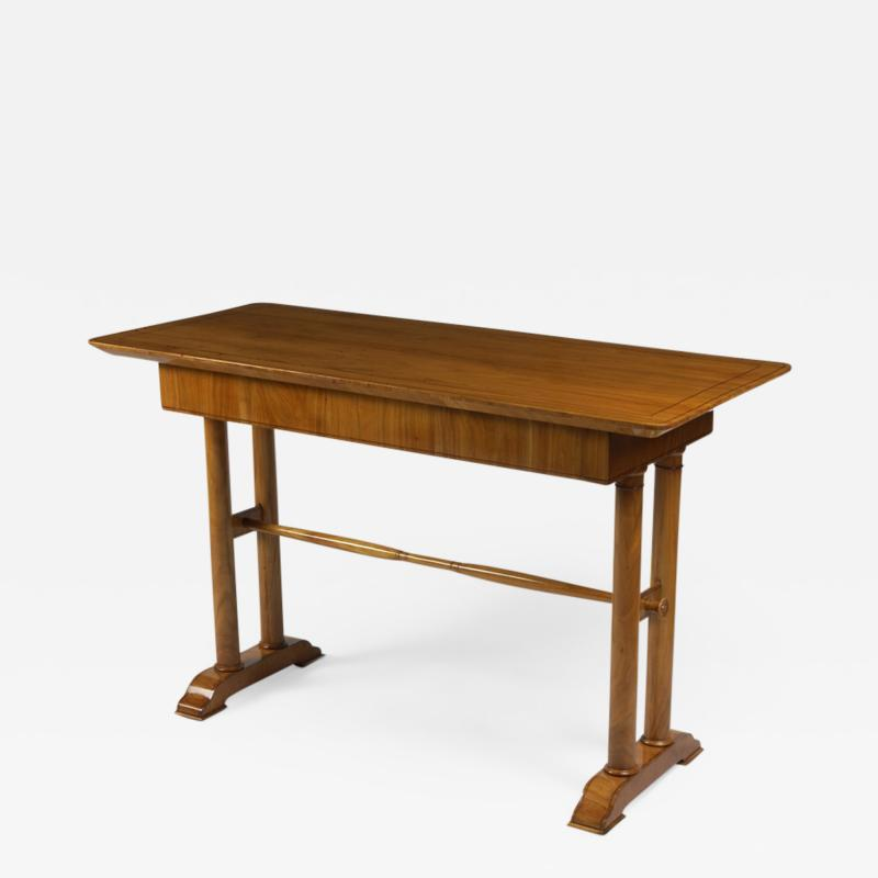 A Single Drawer Biedermeier Sofa Table