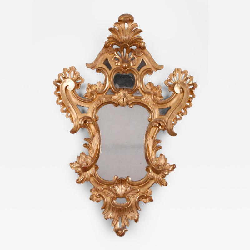 A Spanish Colonial Rococo Mirror Nueva Granada ca 1780