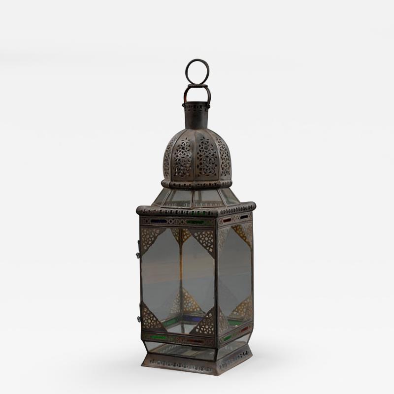 A large Moroccan lantern