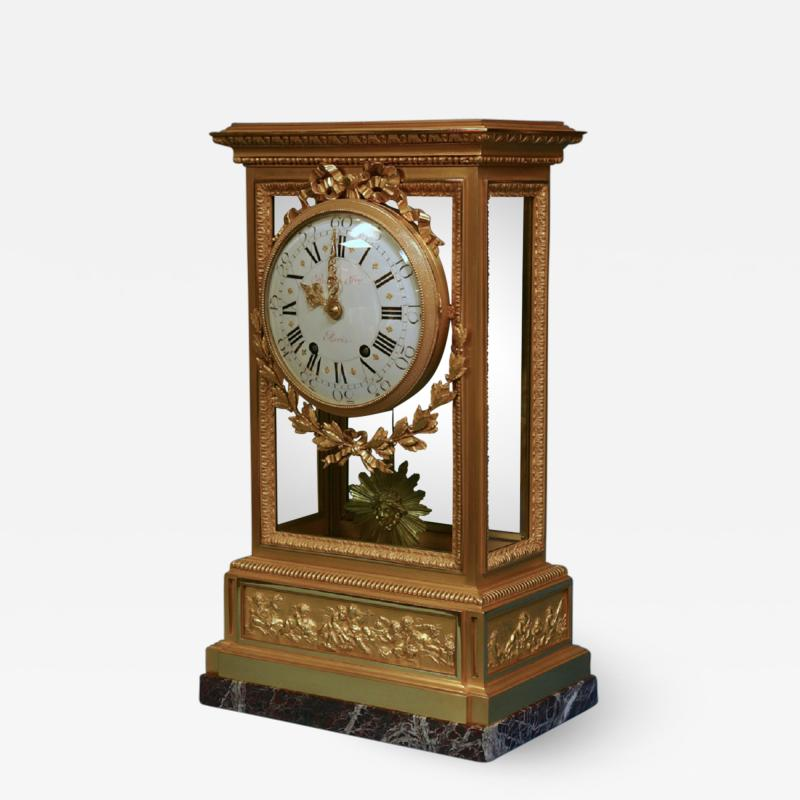 A large and impressive Victorian mantle clock by the eminent firm Raingo Fr res