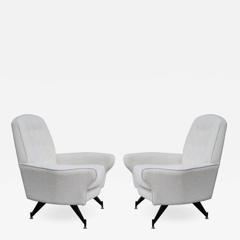 A pair of italian armchairs Italy 60