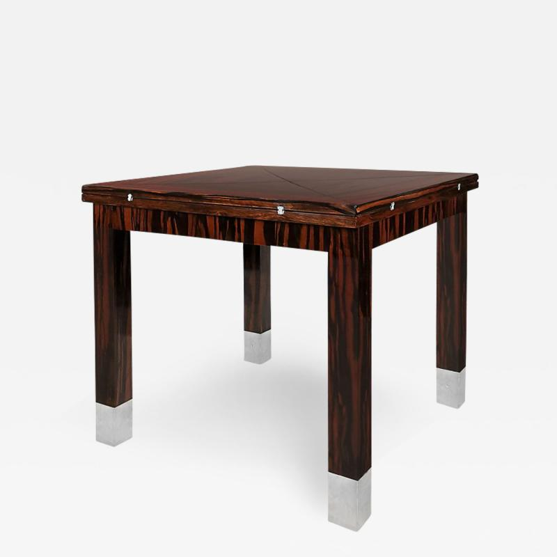ART DECO GAME TABLE FRANCE 1930