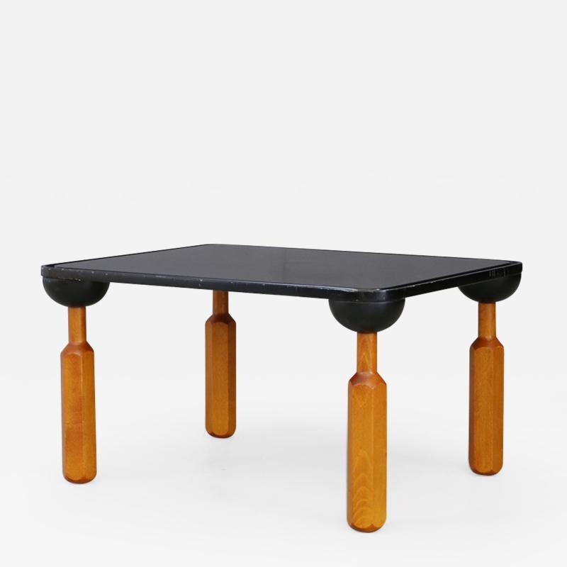 Achille Castiglioni Achille Castiglioni for Zanotta Side Table in lacquered wood published 1970s