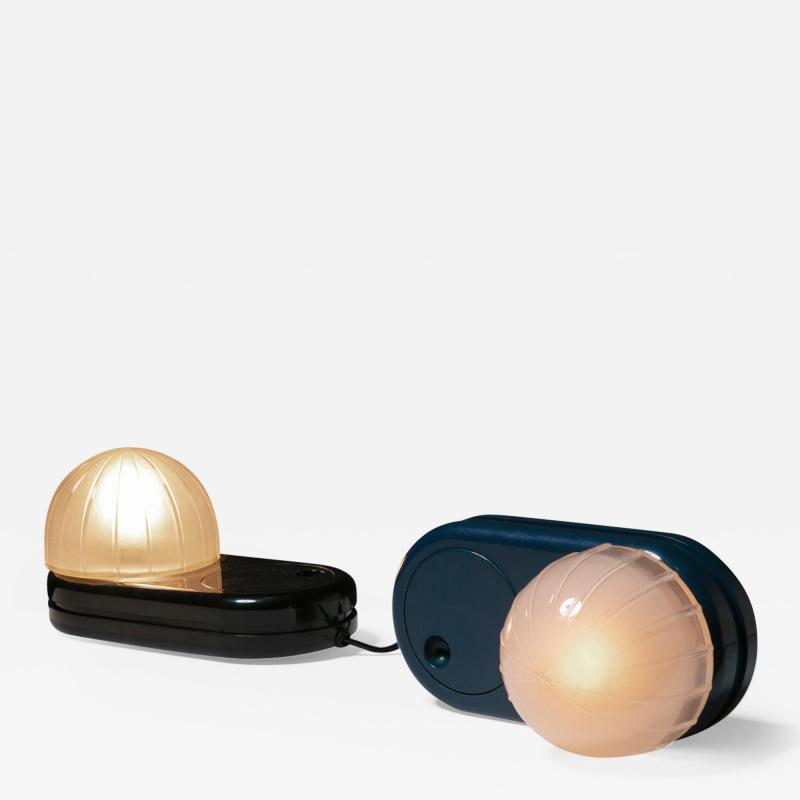 Adalberto Dal Lago Pair of Farstar Table Lamps by Adalberto Dal Lago for Francesconi