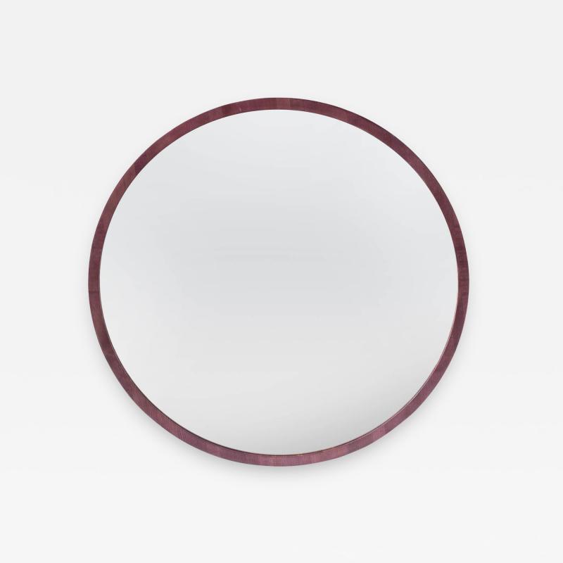 Adam Zimmerman 3 Round Wall Mirror by Studio Craft Artist Adam Zimmerman 21st Century
