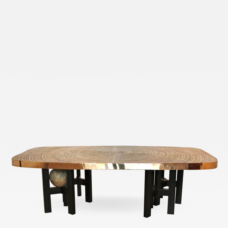 Ado Chale Goutte deau dining table