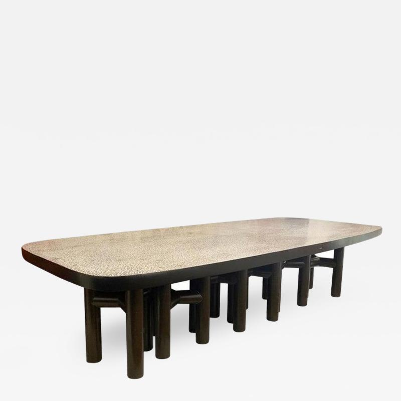 Ado Chale Large Dining Table by Ado Chale Signed by Artist Belgium