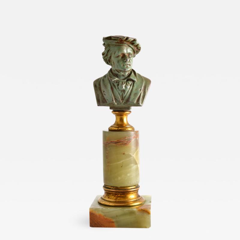 Adolf Karl Brutt Bronze Bust E Boermel By Adolf Karl Brutt 1910 Germany H Gladenbeck Son
