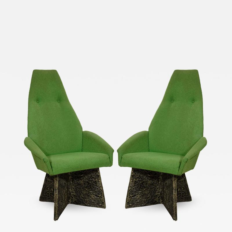 Adrian Pearsall Adrian Pearsall Set of Four Brutalist Dining Room Chairs for Craft Associates